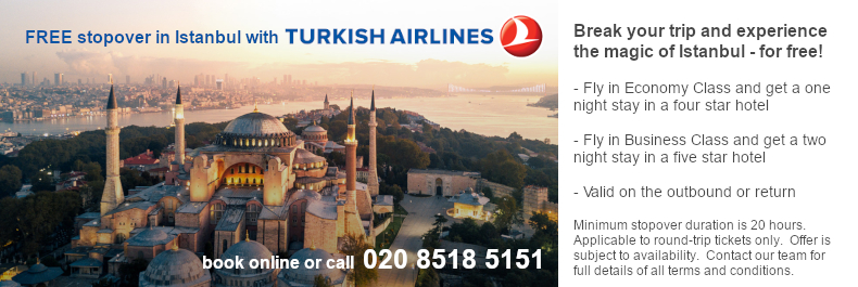 Turkish Stopover Offer