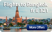 Cheap Flight Tickets to Bangkok