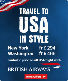 Cheap flight tickets to USA